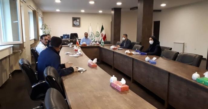 جلسه کمیته ایمنی و بهداشت مجتمع