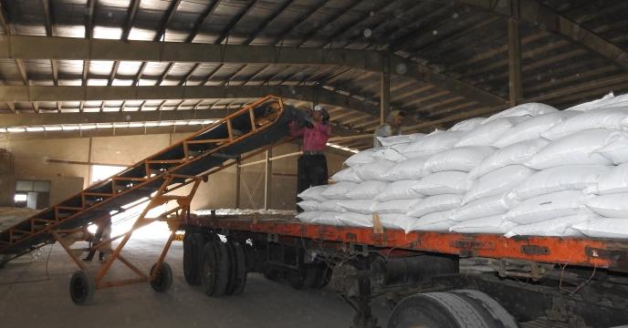 توزیع 85 تن کود نیترات آمونیوم سولفات در شهرستان نظرآباد