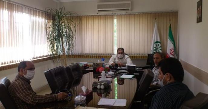 تشکیل جلسه هفتگی مدیریت و معاونین مرکز تحقیقات کاربردی نهاده های کشاورزی