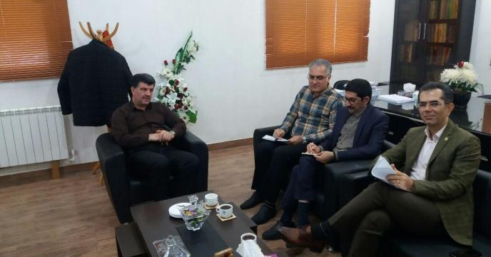 برگزاری جلسه  به منظور بررسی فرم چک لیست بازرسی عملکرد صیانت  از حقوق شهروندی در نظام اداری در گلستان