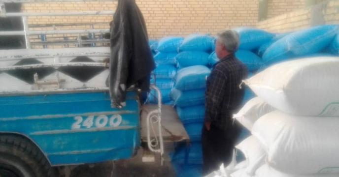 تهیه ، تدارک و توزیع 1882 تن انواع کود شیمیایی در  شهرستان بوانات در نیمه نخست سال جاری
