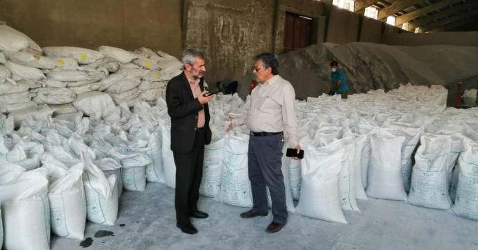 بازدید از عملیات کیسه گیری استان فارس