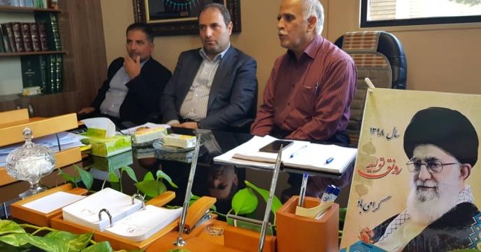 برگزاری جلسه ی هم اندیشی با حضور مشاور محترم مدیر عامل و مدیر هماهنگی امور استان ها