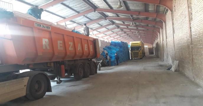توزیع 145 تن کود شیمیایی سولفات پتاسیم در شهرستان میانه