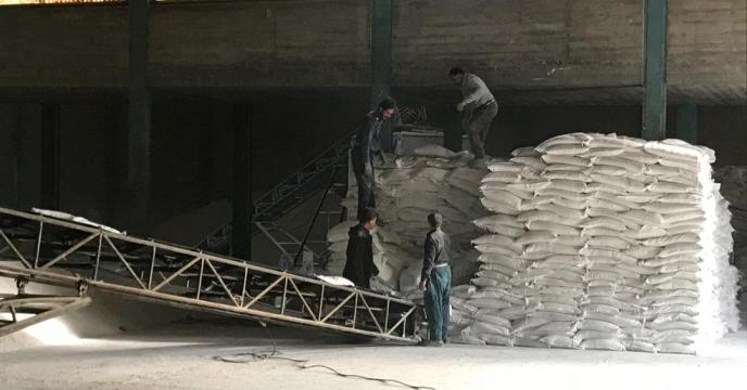 توزیع کود شیمیایی در شهرستان تربت حیدریه ، استان خراسان رضوی