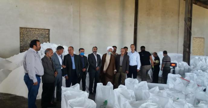 بازدید از انبارهای کود کارگزاران شهرستان فریمان، استان خراسان رضوی