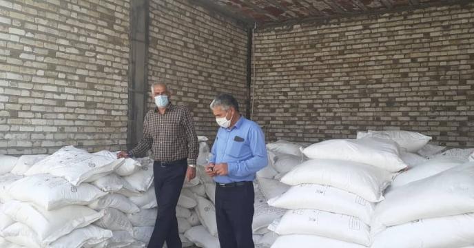 توزیع 170 تن کود درشهرستان رفسنجان استان کرمان