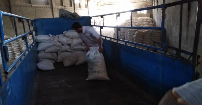 توزیع مستقیم انواع کود شیمیایی به کشاورزان از انبار سازمانی کود