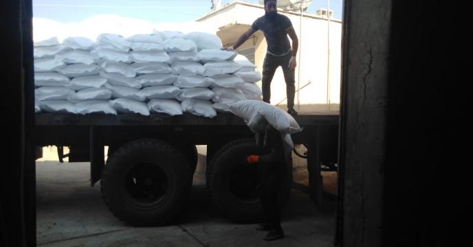 تأمین ۲۳ تن کود شیمیایی اوره در روستای رود حله جنوبی شهرستان بوشهر