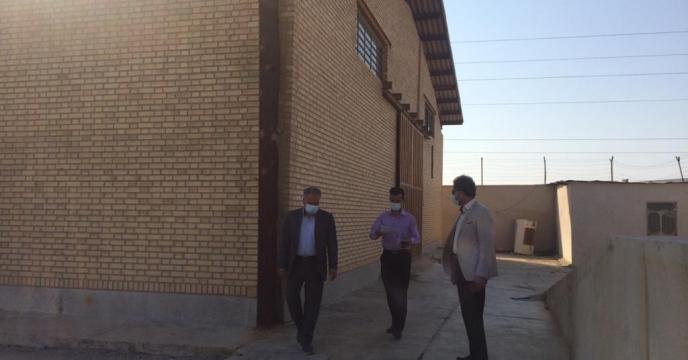 بازدید مدیر شرکت خدمات حمایتی کشاورزی استان بوشهر از اموال اسقاطی انبار سازمانی بنگاه توسعه سابق