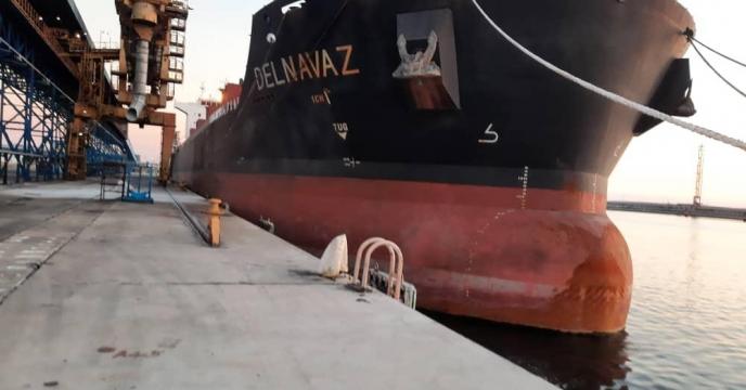 آمار بارگیری کشتی دلنواز به مقصد بندر امام