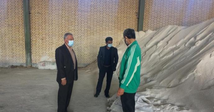بازدید مدیر شرکت خدمات حمایتی کشاورزی استان بوشهر از انبار سازمانی بنداروز