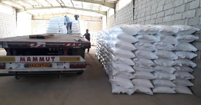 تأمین ۷۱ تن کود شیمیایی اوره در شهر آبدان شهرستان دیر