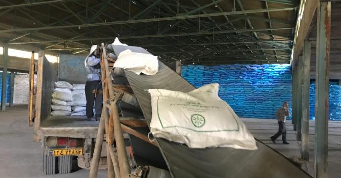 تامین و توزیع کود شیمیایی به شهرستان جغتای، استان خراسان رضوی