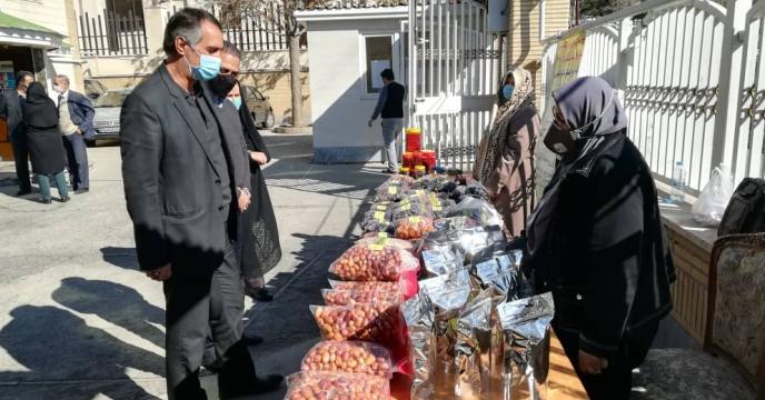 برگزاری نمایشگاه دستاوردهای زنان روستایی در البرز