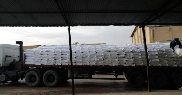 تأمین ۲۳ تن کود شیمیایی اوره در روستای زیارت شهرستان دشتستان