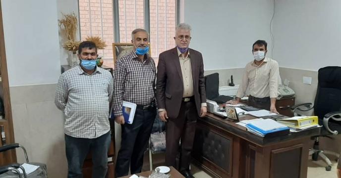 بازدید کارگروه پایش نهاده های کشاورزی از کارگزاران استان اصفهان