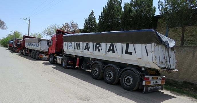 جلوگیری از حمل مجدد با ترانزیت کامیونهای حامل کود در همدان