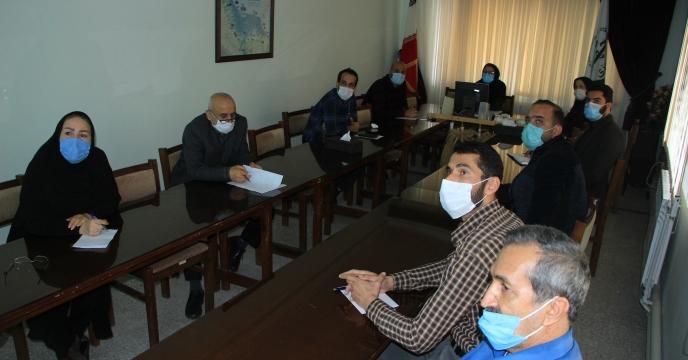 برگزاری جلسه اموزشی سیستم حمل و نقل شرکت خدمات حمایتی کشاورزی در استان گیلان