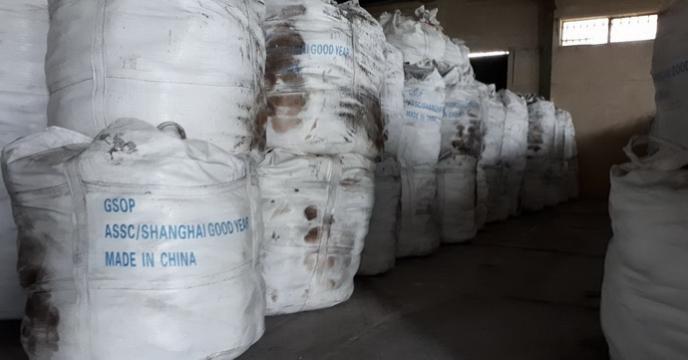 عملیات توزیع 3450 تن کود با بسته های جامبو در مازندران