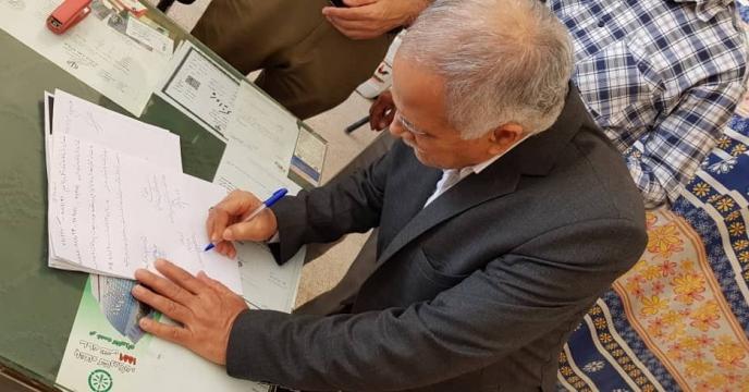 بازدید مدیر شرکت خدمات حمایتی کشاورزی استان خراسان رضوی از انبار کود کارگزاران