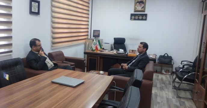 جلسه با مدیر توسعه بازرگانی سازمان جهاد کشاورزی
