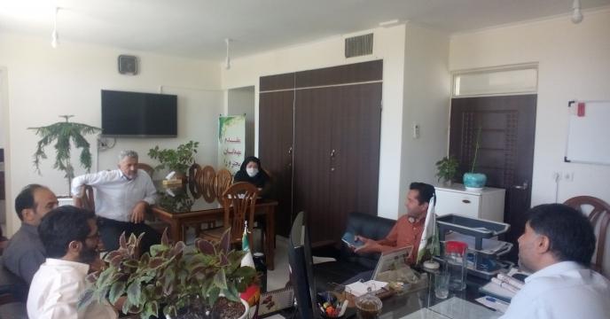 جلسه کمیته فنی کود در  استان سمنان