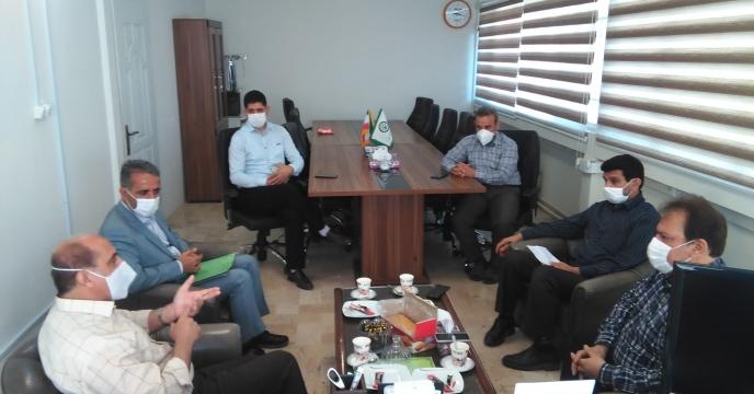 برگزاری جلسه مشترک با همکاران مجتمع شیمیایی آبیک