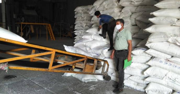 توزیع  انواع کودهای شیمیایی در شهرستان ساوجبلاغ