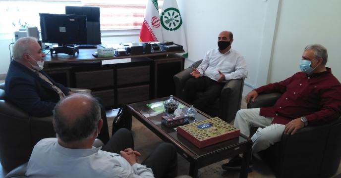 جلسه مشترک با پیمانکار برنده مناقصه امور حفاظتی البرز