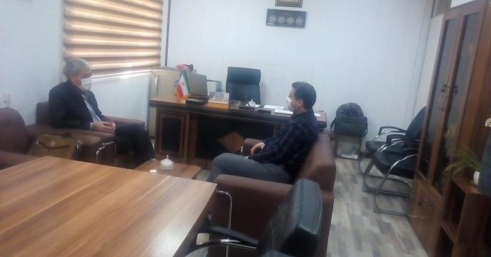 جلسه با معاون سازمان جهاد کشاورزی استان قم