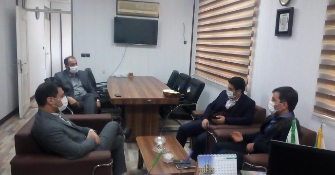 جلسه با مدیرعامل اتحادیه تعاون روستایی، رئیس سازمان تعاون روستایی و مدیر عامل تعاونی های تولید