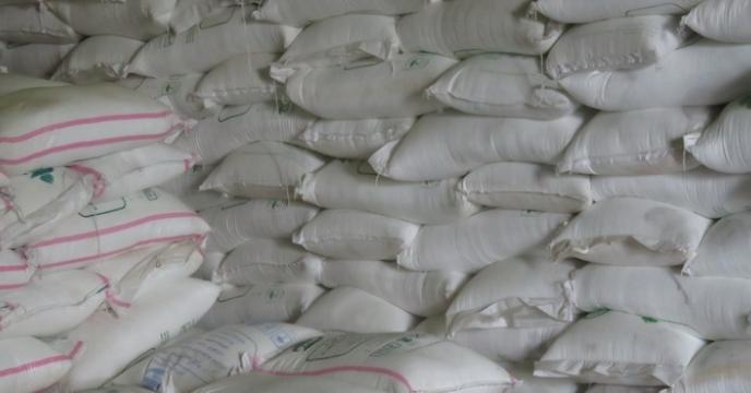 کیسه گیری 3200 هزار تن کود فله در مازندران