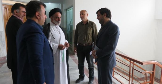 بازدید نمایندگی ولی فقیه از مدیریت مازندران