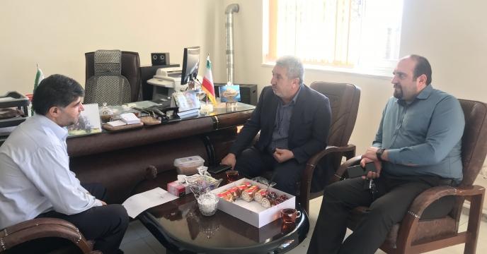 جلسه با مدیریت شرکت مروارید ارسباران