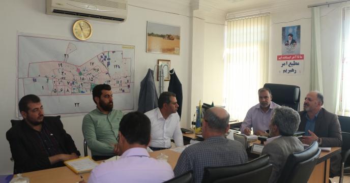 برنامه ریزی جذب سهمیه کودی در شهرستان قرچک