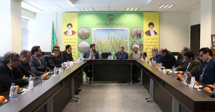 جلسه کارگروه جهاد کشاورزی پدافند غیرعامل استان قم