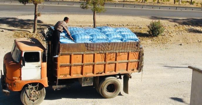 حمل 12267 تن کود شیمیائی اوره از مبدأ پتروشیمی شیراز به استان سیستان و بلوچستان