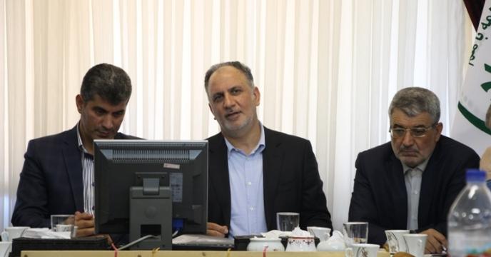 بازدید مدیر عامل شرکت خدمات حمایتی کشاورزی کشور و هیئت همراه ازشرکت استان گیلان