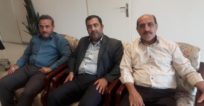 برگزاری جلسه با مدیریت محترم مجتمع شیمیایی آبیک