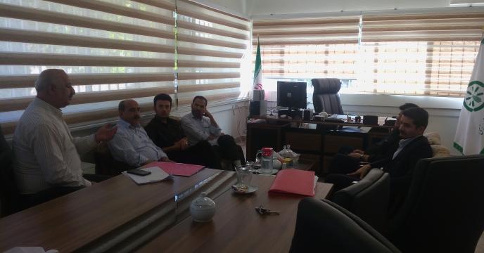 شرکت در جلسه کمیته نظارت بر مواد کودی شهرستان فردیس