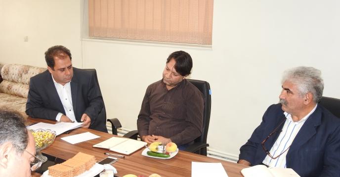 برگزاری جلسه و نشست صمیمی با کارگزاری بخش خصوصی شهرستان نظرآباد