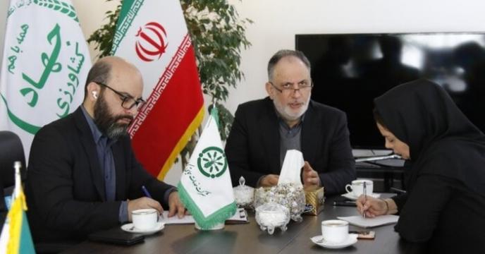 مصاحبه مدیرعامل شرکت خدمات حمایتی کشاورزی با خبرگزاری جمهوری اسلامی