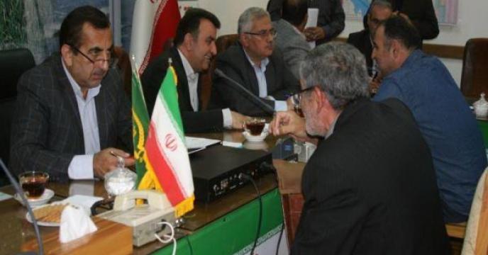 حضور مدیر مازندران در ملاقات عمومی رئیس سازمان با مردم