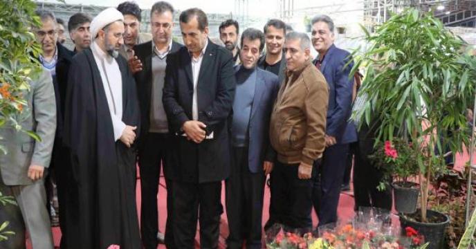 نمایشگاه گل و گیاه در مازندران