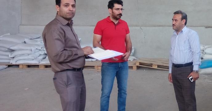 پایش و نظارت کارگزاران توزیع نهاده های کشاورزی شهرستان فردیس