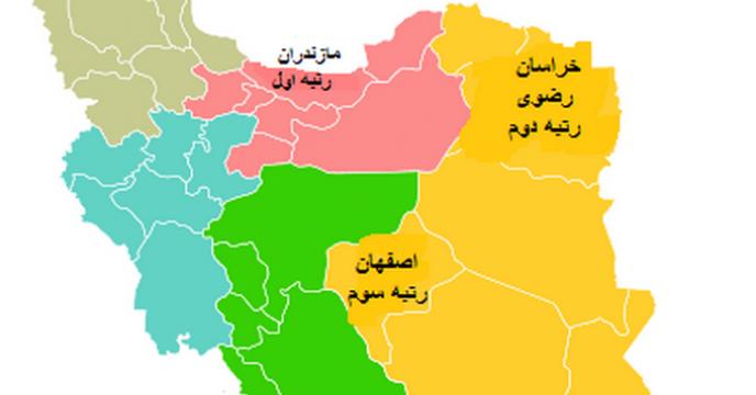 برترین استان ها در بازدید کارگزاران