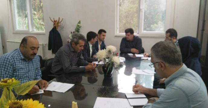 برگزاری جلسه كارگروه ستاد بحران پیش گیری از سیل و آب گرفتگی انبار ها در  استان گلستان