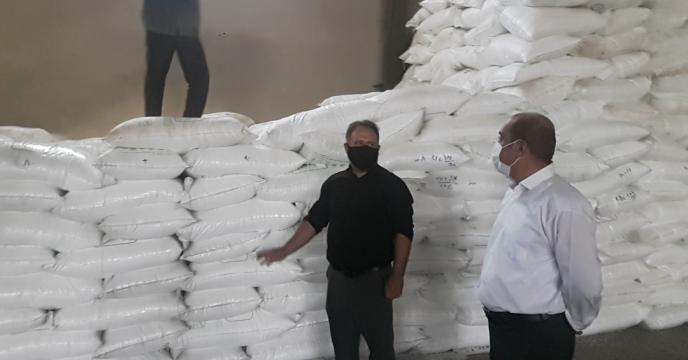 بازدید مدیر استان از روند حمل و  ارسال کود به کارگزاران