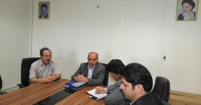 برگزاری جلسه فنی با همکاران حوزه معاونت فنی